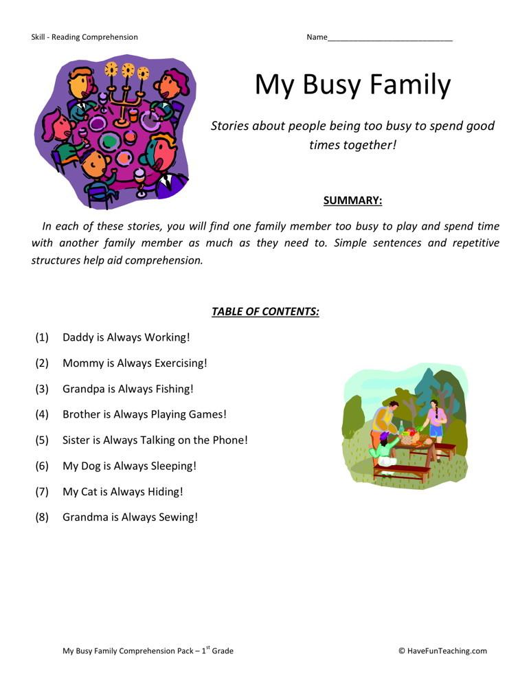 Reading Worksheets For 6th Grade Pdf Ereadingworksheets Free