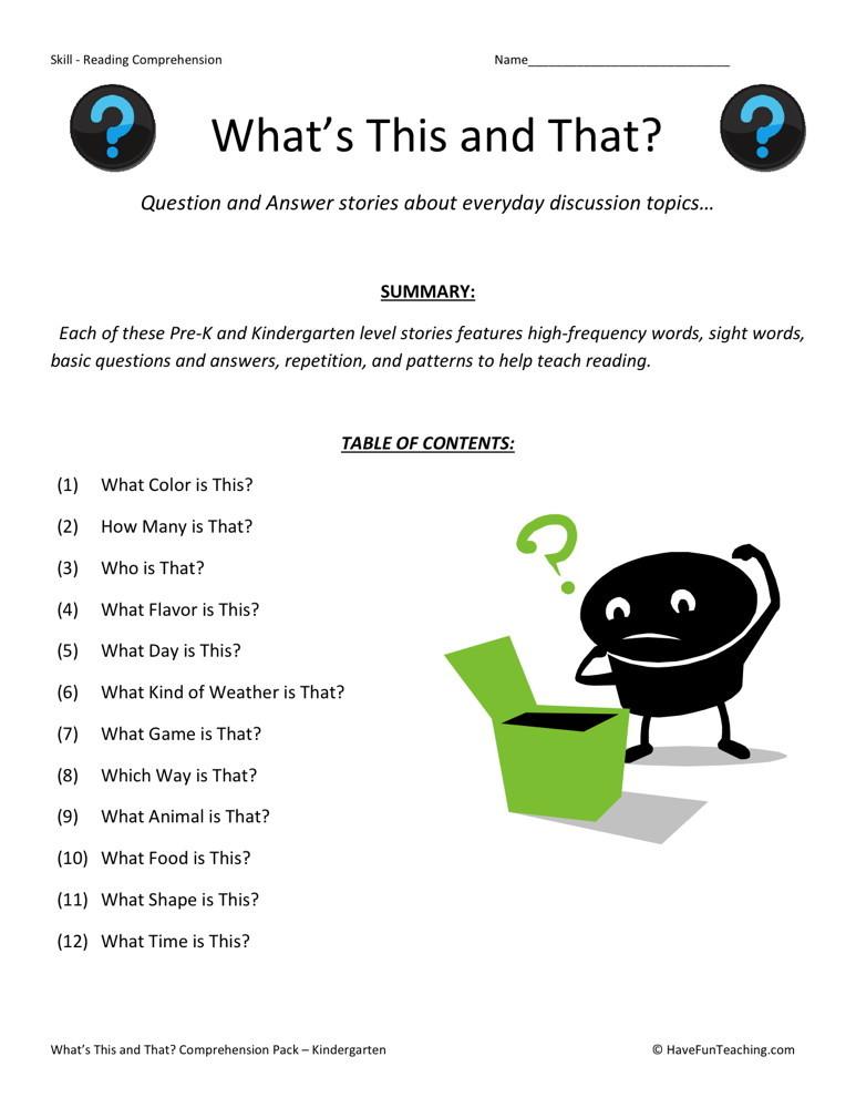 ... reading comprehension worksheets math reading comprehension worksheets
