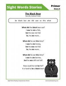 The Black Bear